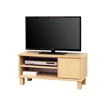 コンパクトなテレビ台