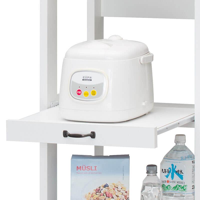 炊飯器用スライド棚