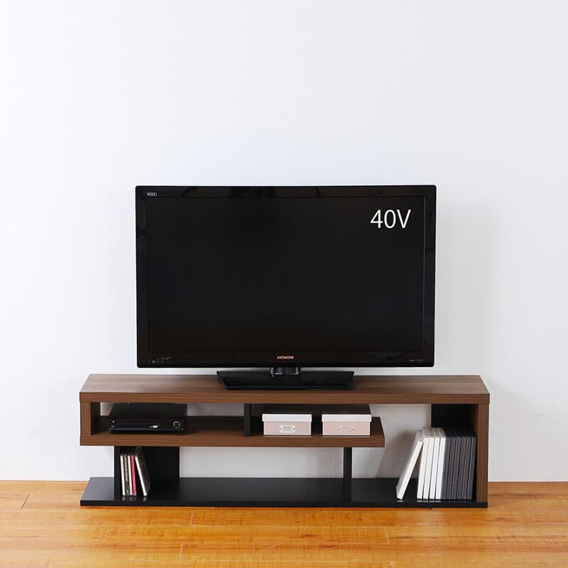 40から50V型テレビにちょうどいい大きさ