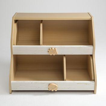 【幼児・園児向け】どんなおもちゃも入れられる!?スライドおもちゃ箱