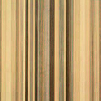 ストライプ木目の扉