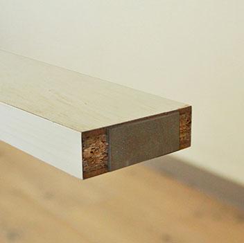 床の傷を防ぐクッション付き